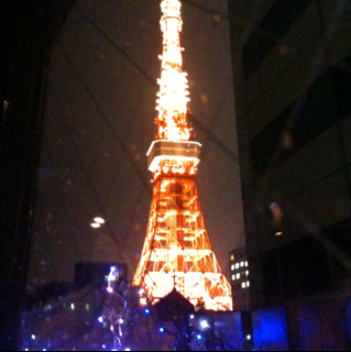 Dinner by Tokyo Tower